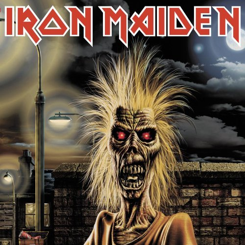 Iron Maiden Running Free cover art