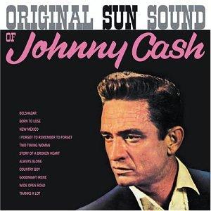Johnny Cash Goodnight, Irene cover art