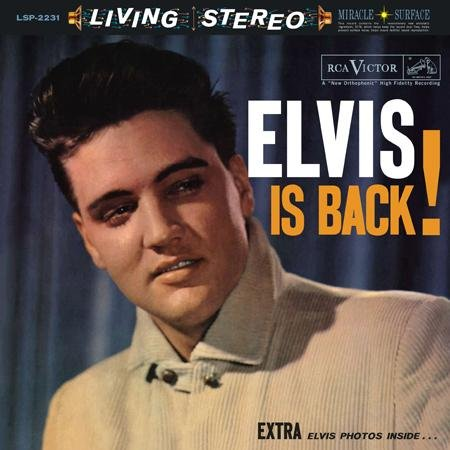 Elvis Presley Such A Night cover art