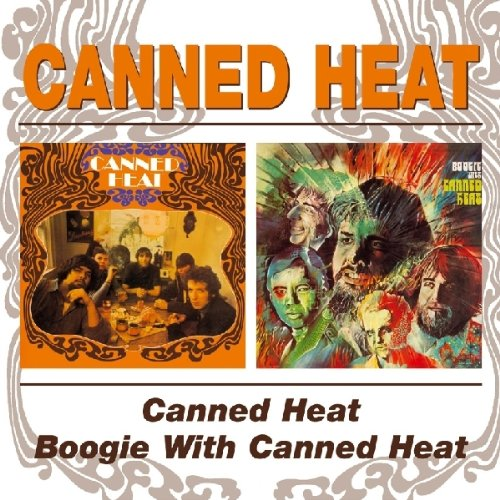 Canned Heat On The Road Again cover art