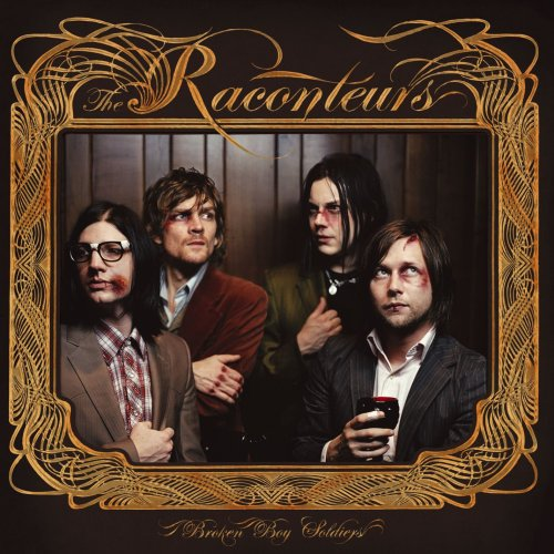 The Raconteurs Broken Boy Soldier cover art