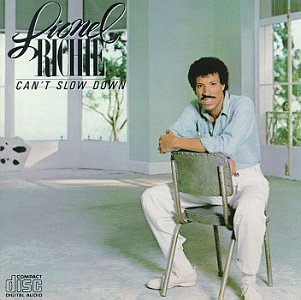 Lionel Richie Stuck On You cover art