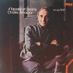 Charles Aznavour Yesterday When I Was Young (Hier Encore) cover art