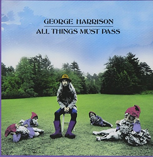 George Harrison Let It Down cover art