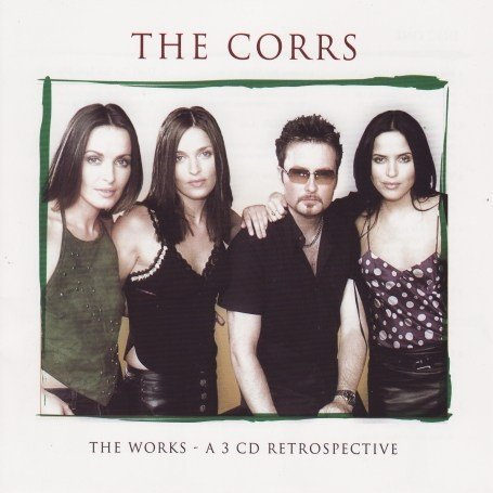 The Corrs No Frontiers cover art