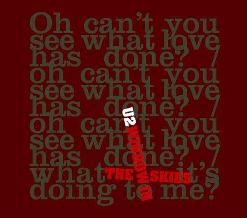 U2 Window In The Skies cover art