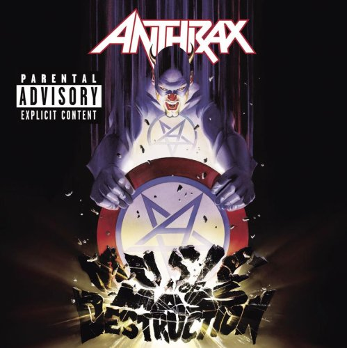 Anthrax Be All End All cover art