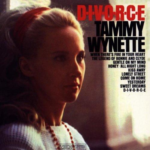 Tammy Wynette D-I-V-O-R-C-E cover art