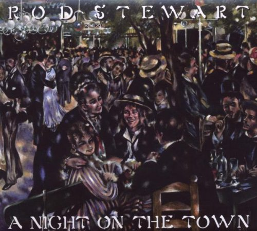 Rod Stewart Tonight's The Night (Gonna Be Alright) cover art