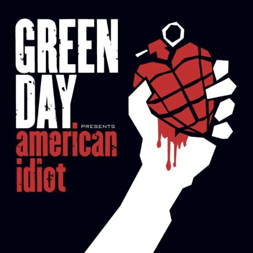 Green Day American Idiot cover art