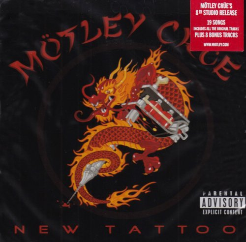 Motley Crue Hell On High Heels cover art