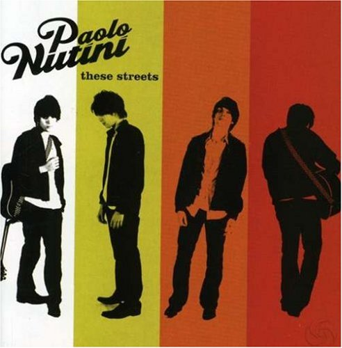 Paolo Nutini These Streets cover art