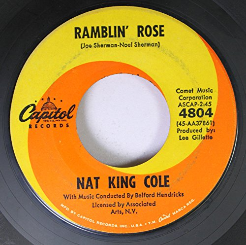 Nat King Cole Ramblin' Rose cover art