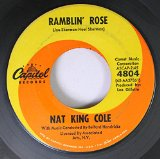 Nat King Cole Ramblin' Rose cover art