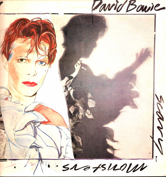 David Bowie Scary Monsters cover art