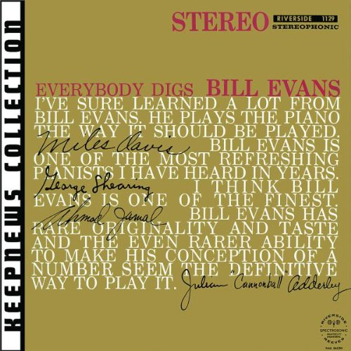 Bill Evans Epilogue cover art