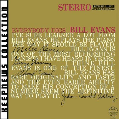 Bill Evans Tenderly cover art