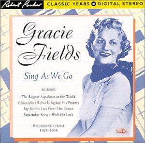 Gracie Fields Sally cover art