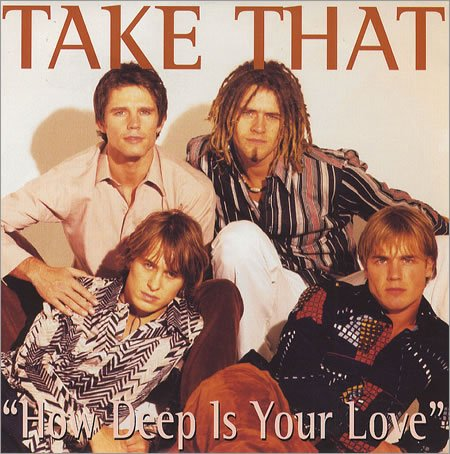Take That How Deep Is Your Love cover art