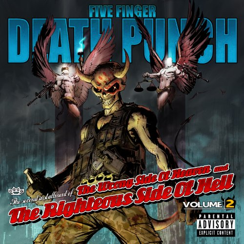 Five Finger Death Punch Lift Me Up cover art