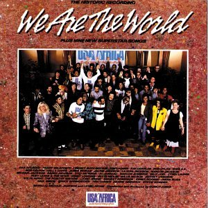 USA For Africa We Are The World cover art