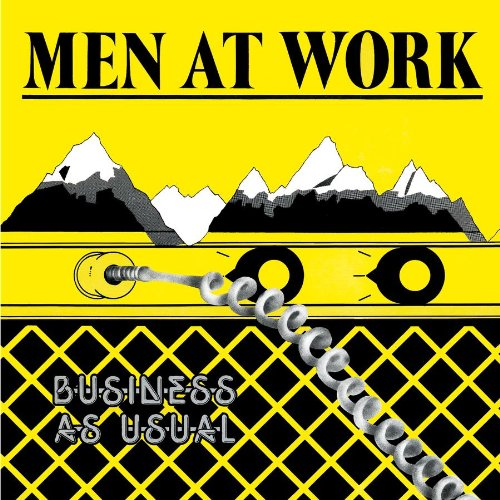 Men At Work Down Under cover art