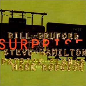 Bill Bruford Half Life cover art
