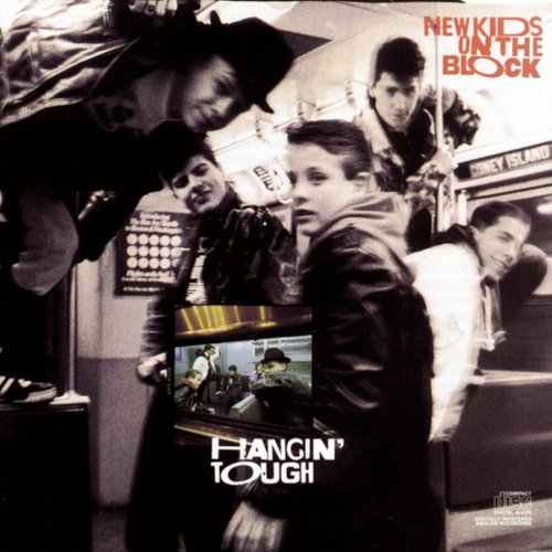 New Kids On The Block Hangin' Tough cover art