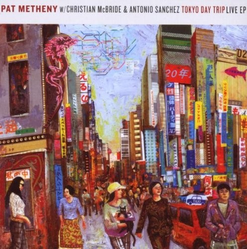Pat Metheny Traveling Fast cover art