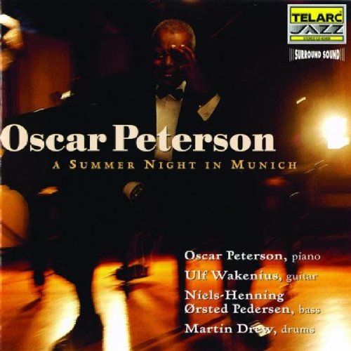 Oscar Peterson Satin Doll cover art