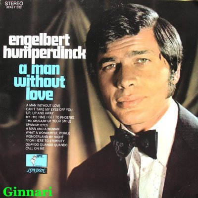 Engelbert Humperdinck A Man Without Love (Quando M'Innamoro) cover art