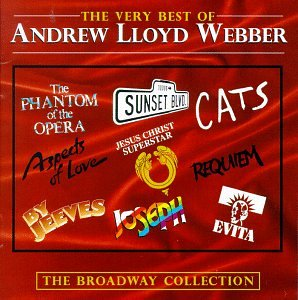 Andrew Lloyd Webber Superstar cover art