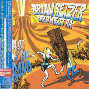 The Brian Setzer Orchestra Jump, Jive An' Wail cover art