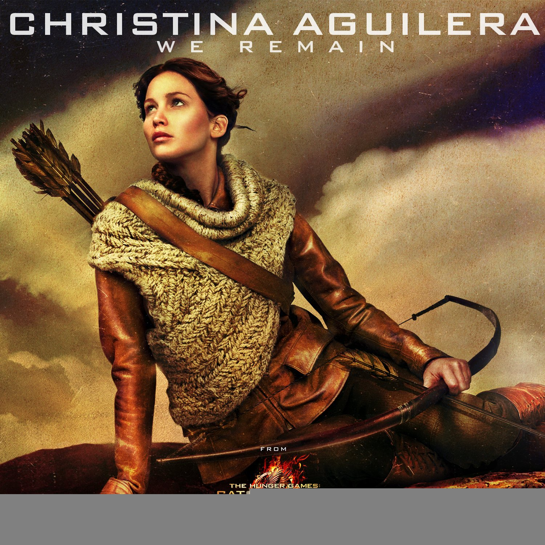 Christina Aguilera We Remain cover art
