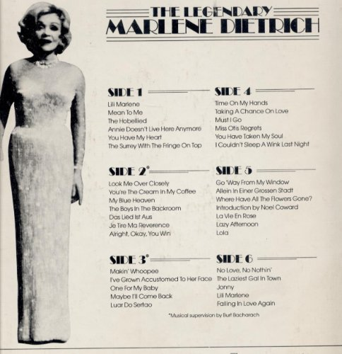 Marlene Dietrich Look Me Over Closely cover art