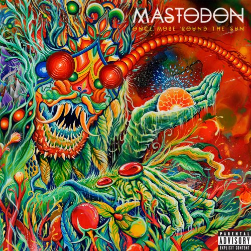 Mastodon Once More 'Round The Sun cover art