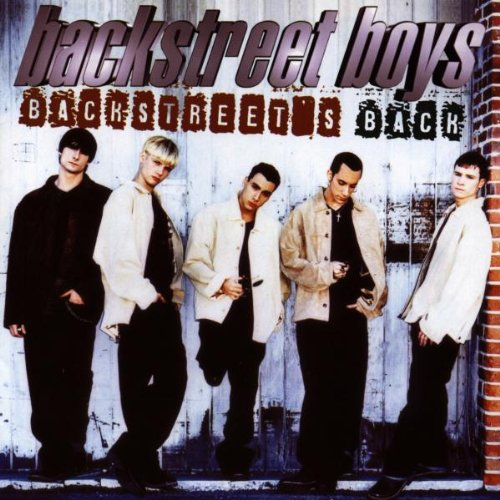 Backstreet Boys Everybody (Backstreet's Back) cover art