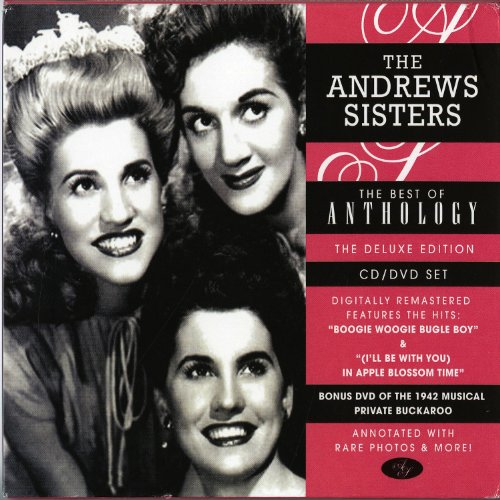 The Andrews Sisters The Three Caballeros cover art