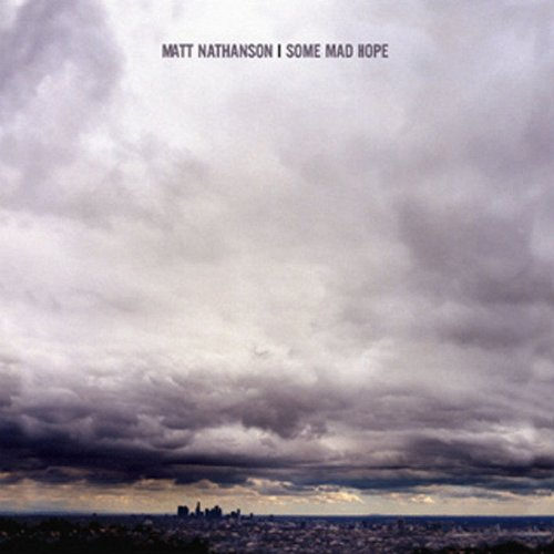 Matt Nathanson Bulletproof Weeks cover art