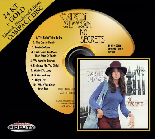 Carly Simon You're So Vain cover art