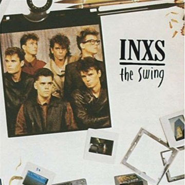 INXS Burn For You cover art