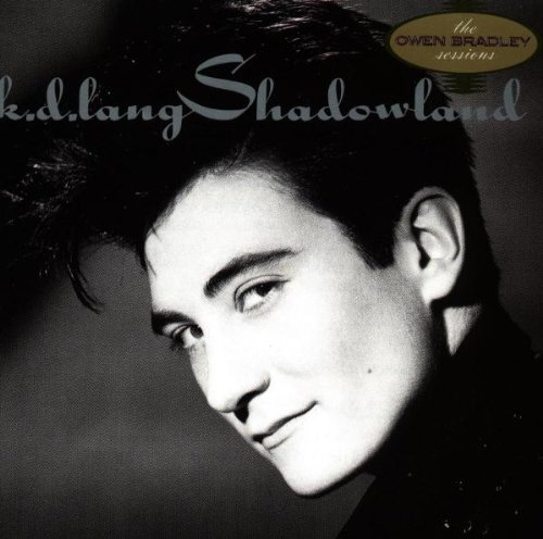 k.d. lang Shadowland cover art
