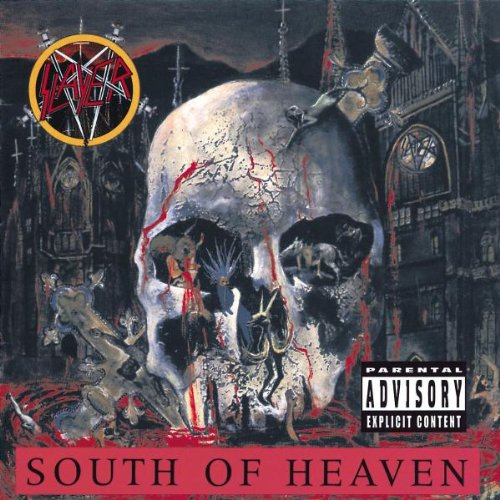 Slayer South Of Heaven cover art