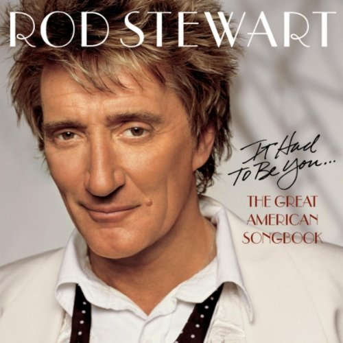 Rod Stewart Moonglow cover art