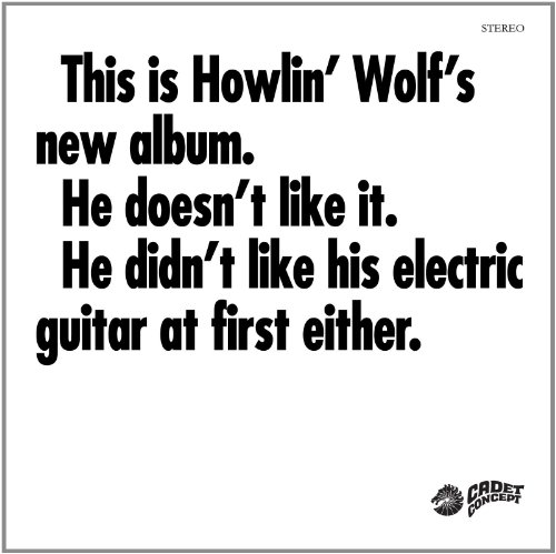 Howlin' Wolf Smokestack Lightning cover art