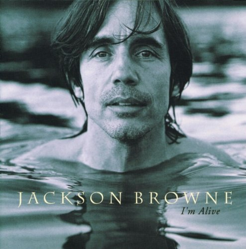 Jackson Browne Sky Blue And Black cover art