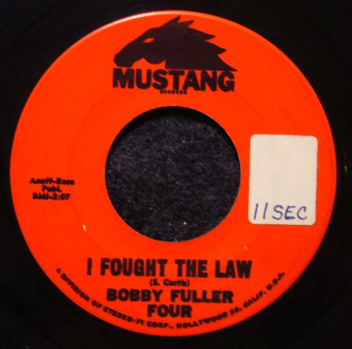 Bobby Fuller Four I Fought The Law cover art