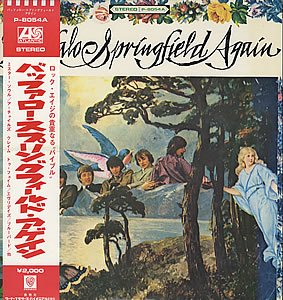Buffalo Springfield Bluebird cover art