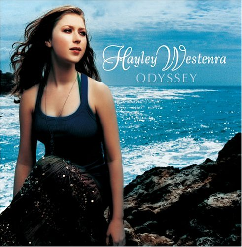 Hayley Westenra Here Beside Me cover art