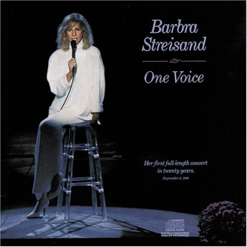 Barbra Streisand Evergreen cover art